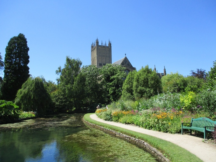 The Bishop's Garden, Wells Cathedral